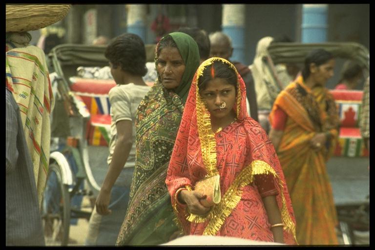 Straßenscene in Varanasi