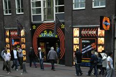 Straßenszene 1 in Amsterdam