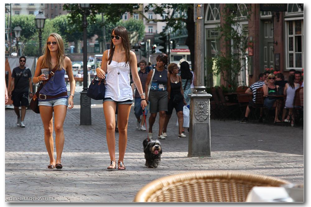 Straßenszene (Frankfurt am Main) Foto & Bild | streetfotografie ...