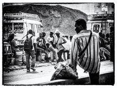 Strassenszene in Dakar