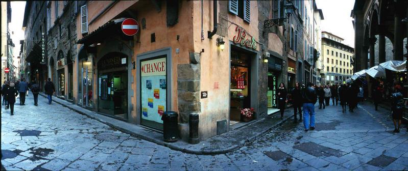 Straßenszene in Florenz X