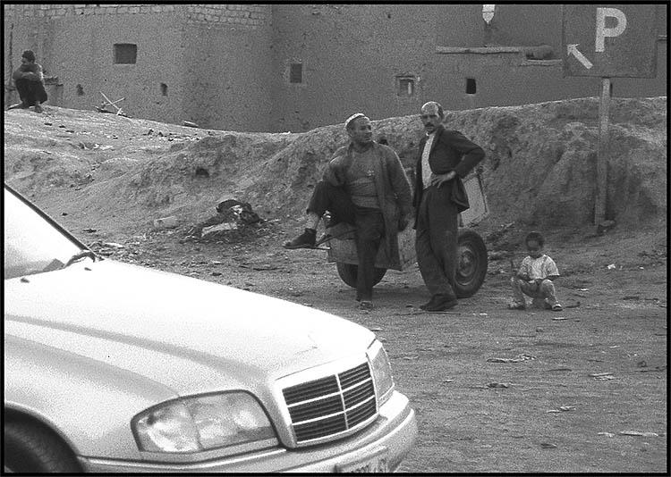 Straßenszene in Marokko