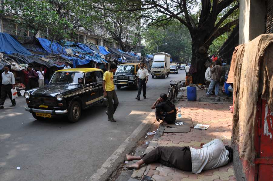 Strassenszene in Mumbai (Bombay) Foto & Bild   asia, india, south ...