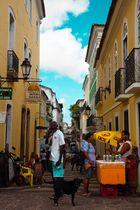 Straßenszene in Salvador