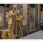 Strassenszene in Siena