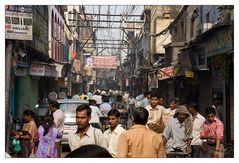 Strassenszene Old Delhi