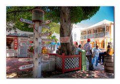 Straßenszene Phillipsburg, St.Maarten, Niederländische Antillen