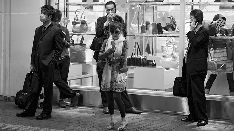 Straßenszene Tokyo Foto & Bild | streetfotografie, menschen Bilder ...