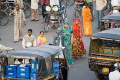Strassenszenen in Jaipur