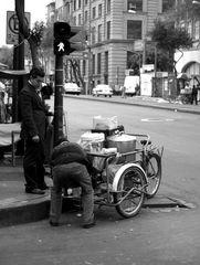 Straßenverkauf