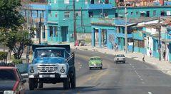 Straßenverkehr Havanna
