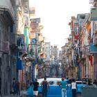 Straßenzug in Havanna