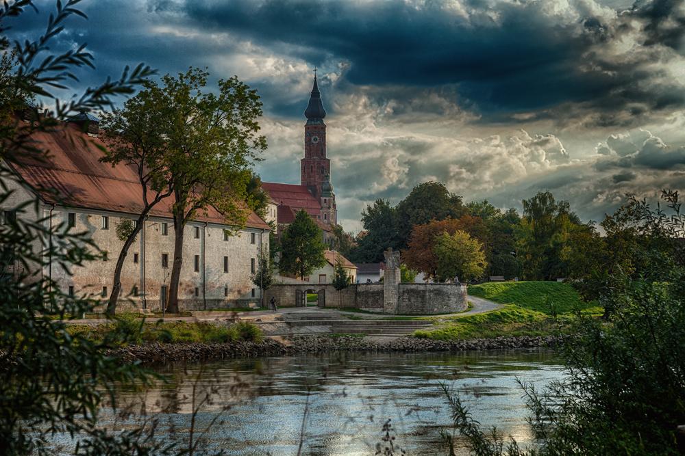 Straubing ( Steinadler an der Donau )