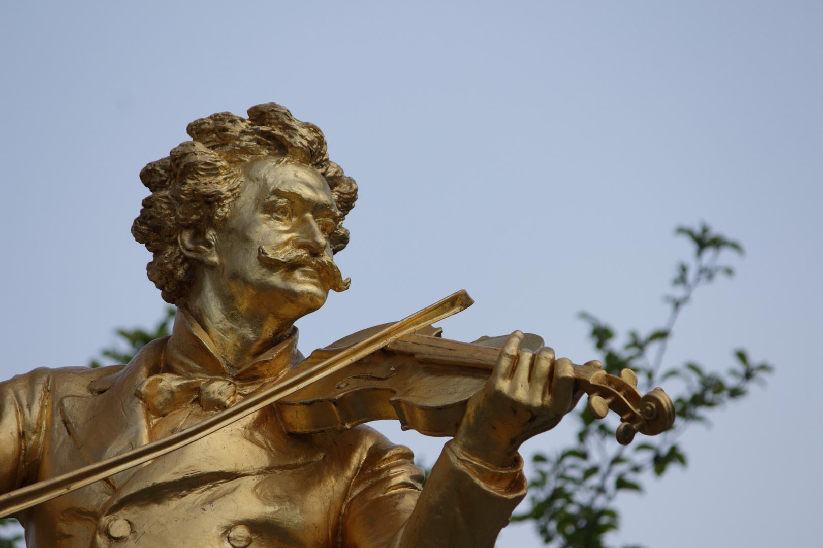 Strauss dans son jardin viennois