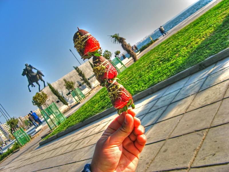 Strawberry Kebab