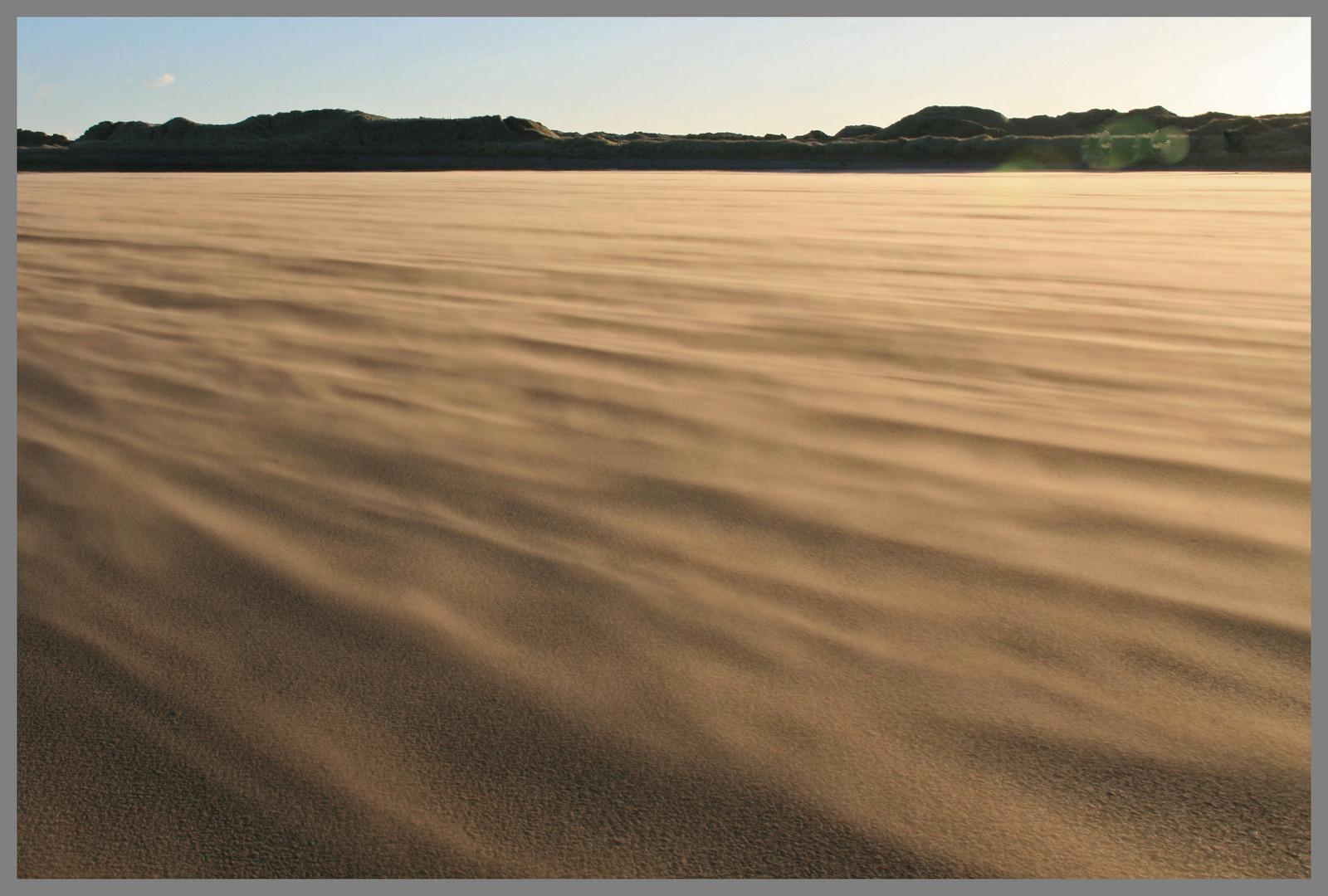 streams of sand Holy Island 3