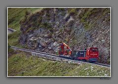 Streckenwartung Brienzer Rothornbahn