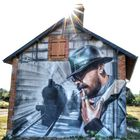 Street art à Lurcy levis