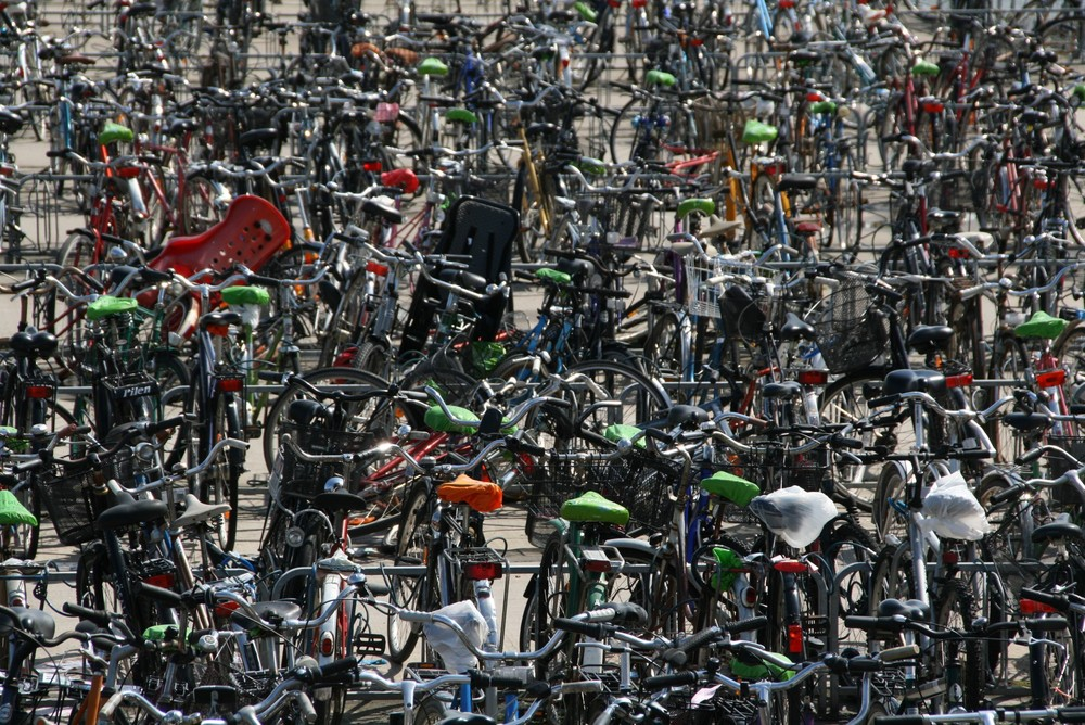 street art bicycles