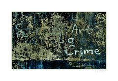- Street Art ...Crime -