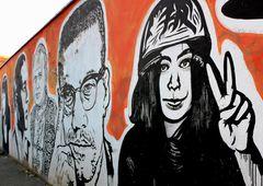 Street Art di J.B.Rock, Wall of Fame. a Roma