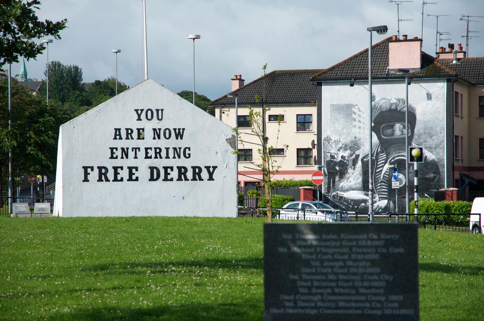 Street Art etwas anders  aus Nord Irland
