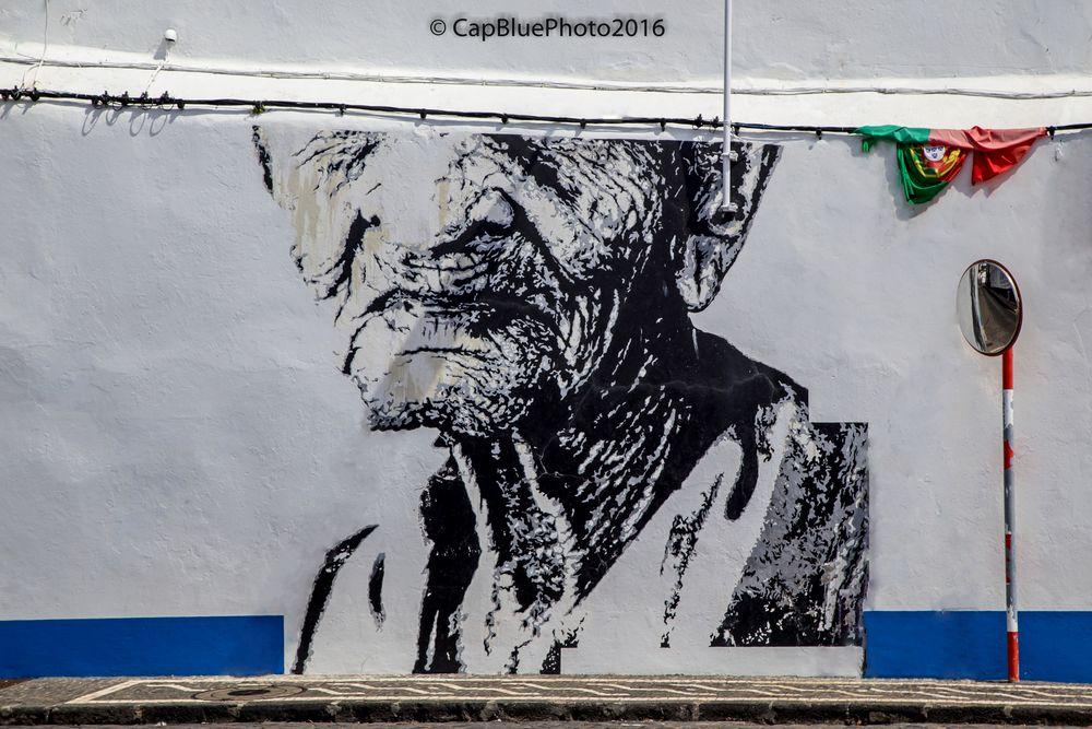 Street Art in Ponta Delgada