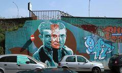 "Street art Rome by Diavù ""Vecchiato"""