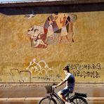street Bild Rad Würzb  P20-20-col +4Fotos