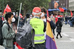 street Demo Monday for jobs Stgt Ca-20-03-col +6Fotos