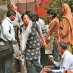 street Frau india ca-21-220-col + Indienfotos