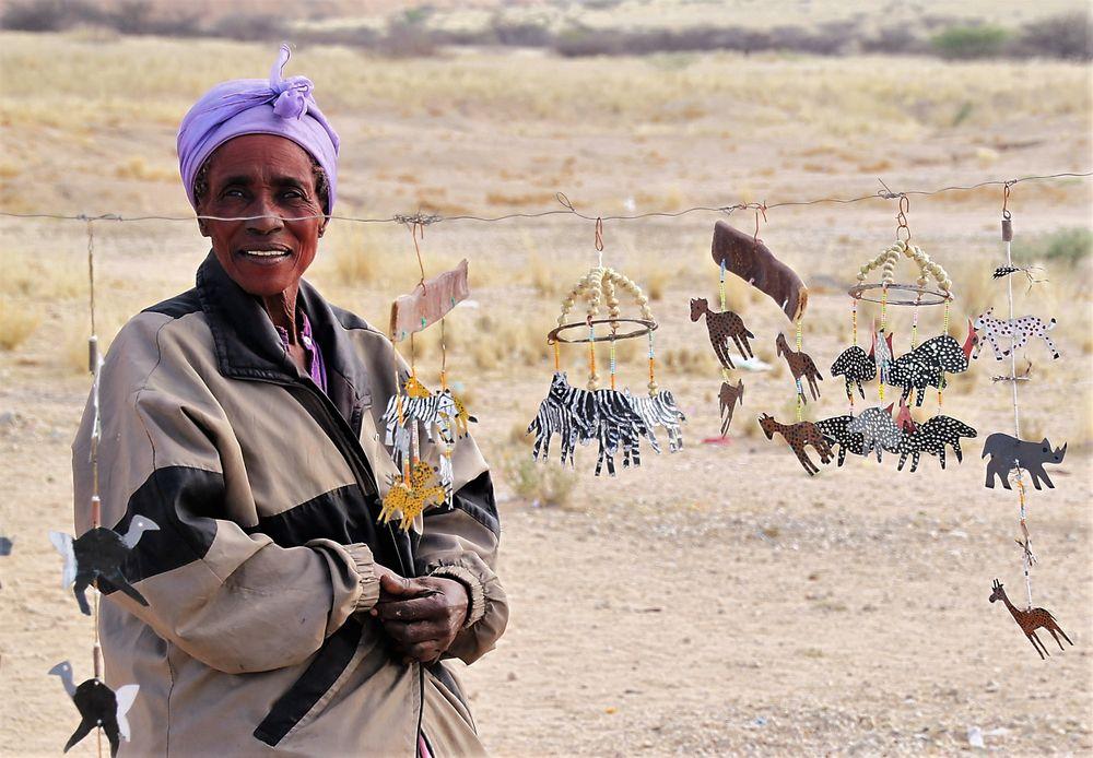Street Frau Namibia Na-49col