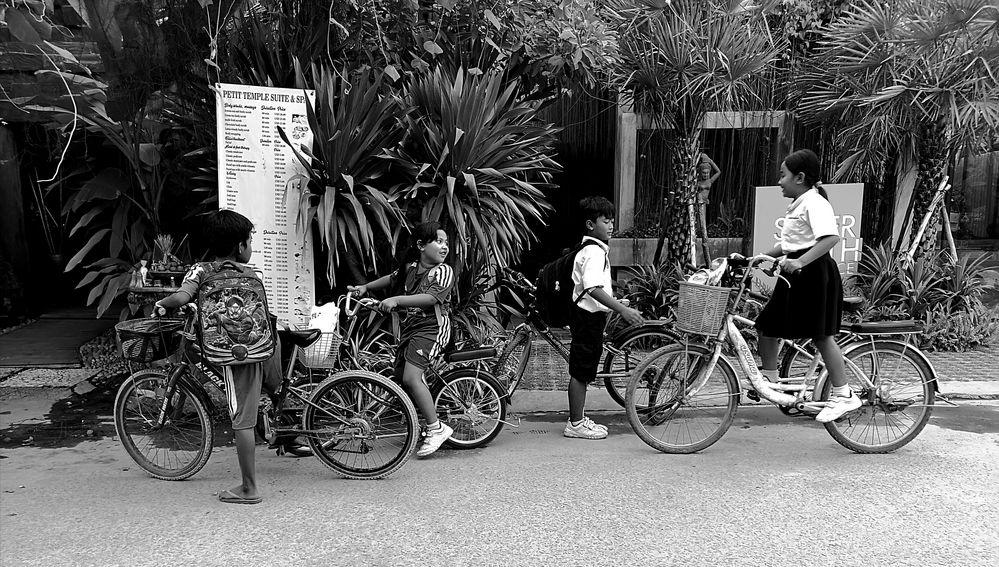 street Junge Radfahrer Schule Camb P20-20-swfi