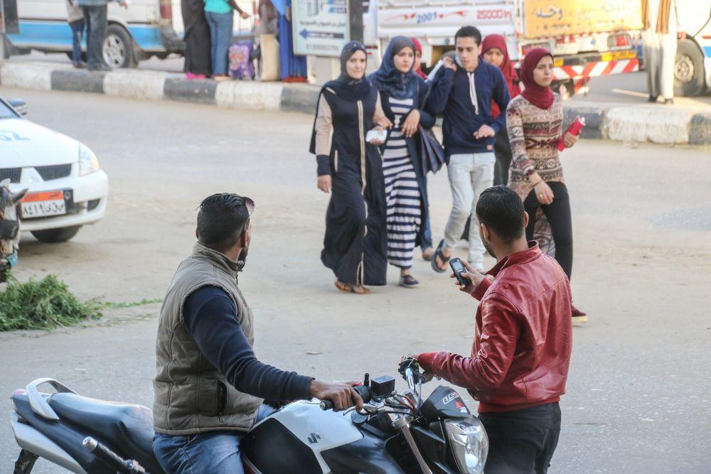street Leute Blickkontakt egypt E-63