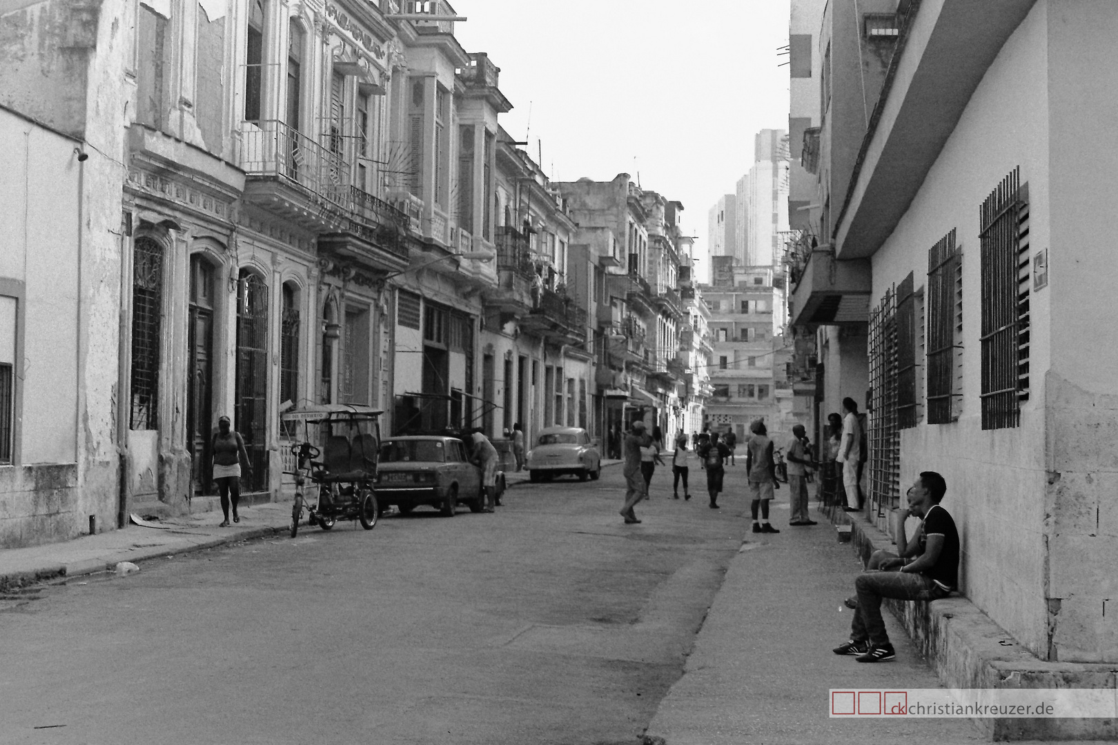 Street Life in Havanna