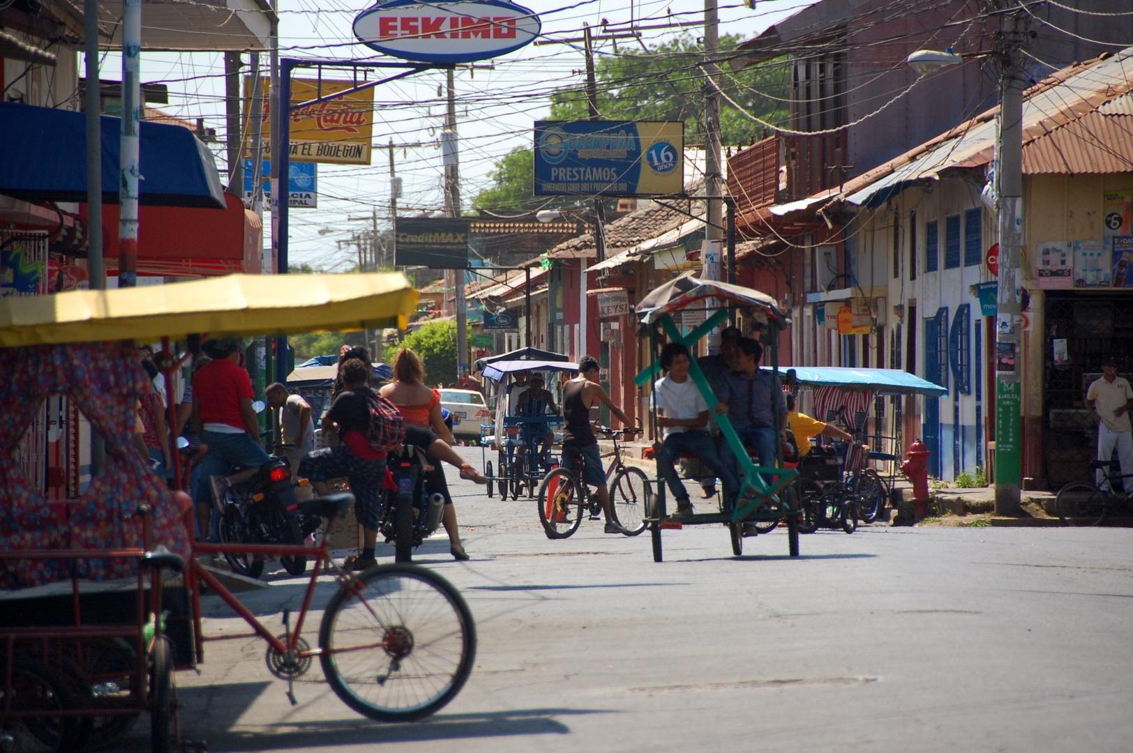 Street life Nigaragua