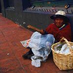 Street live in Ecuador