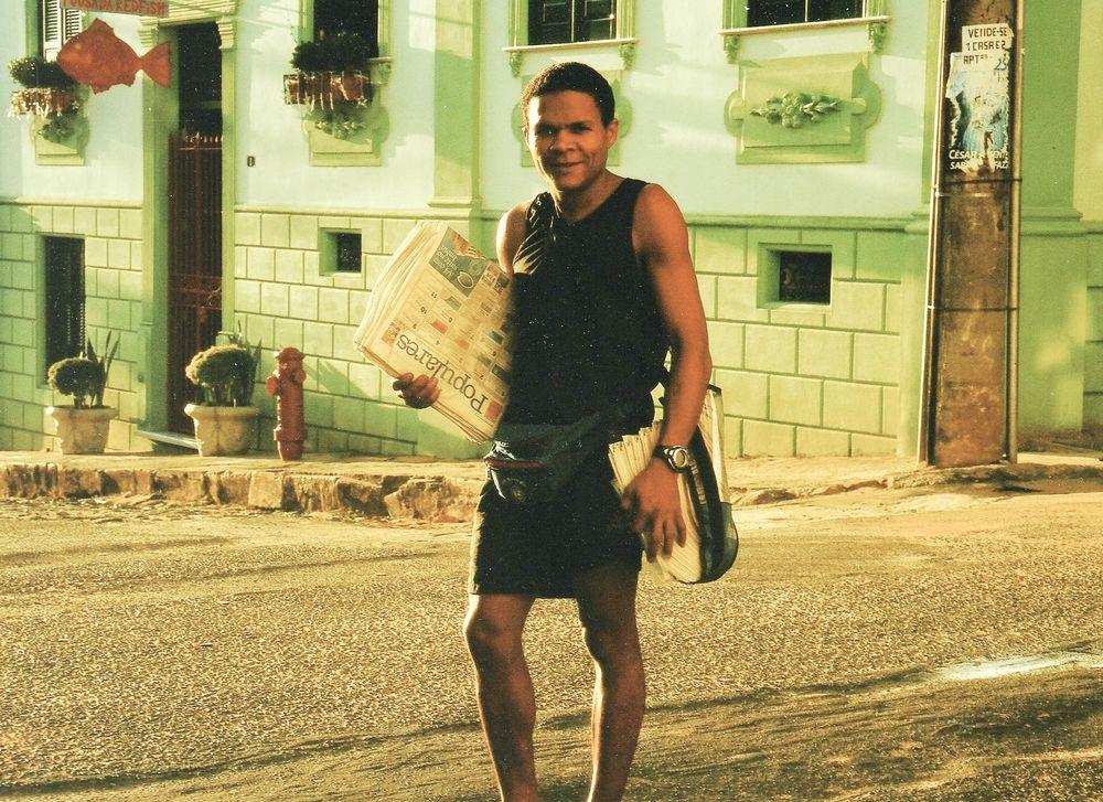 street Mann sunrise Brasil fc-Startbild