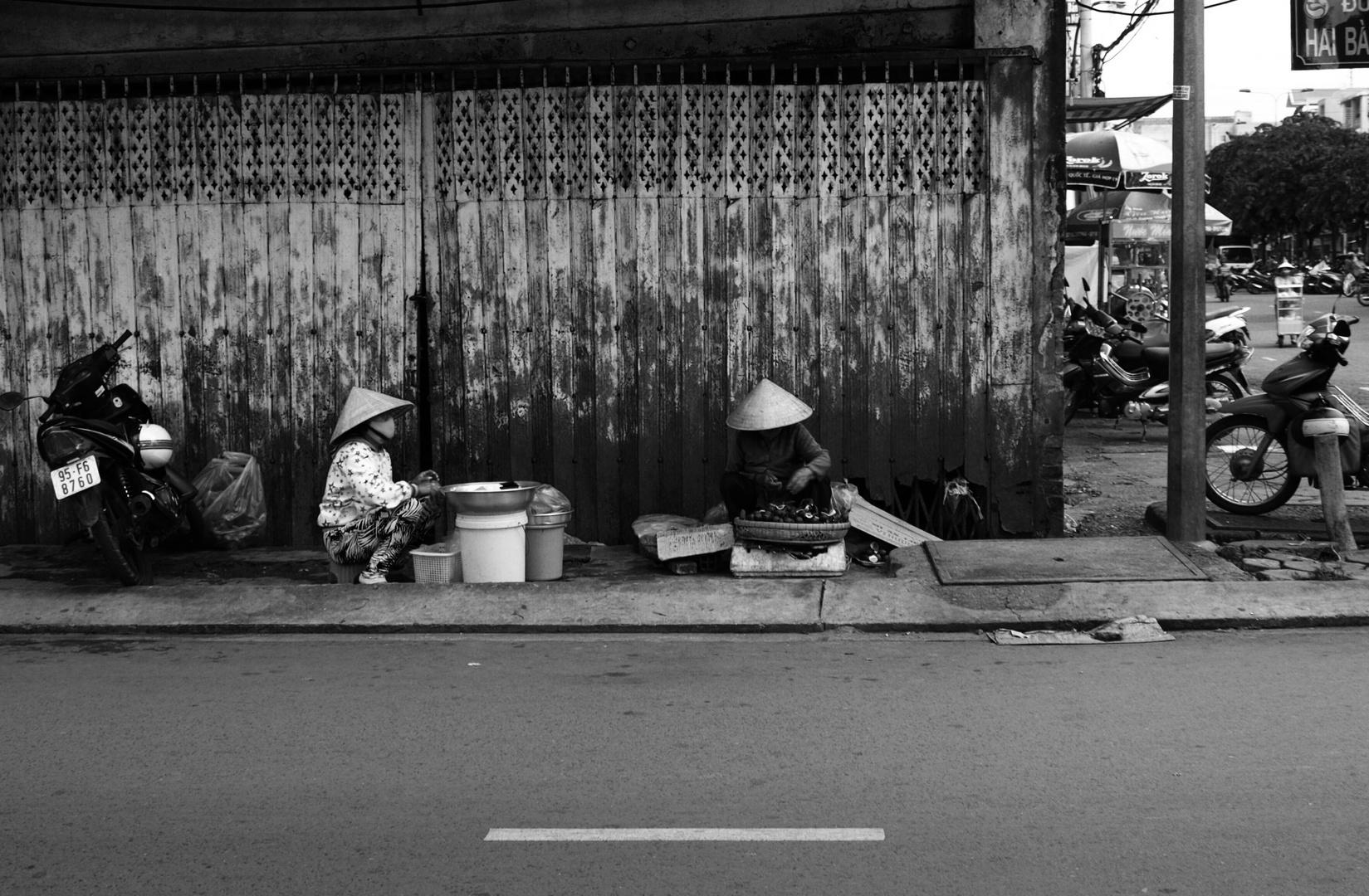 Street merchants