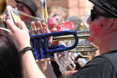 Street Music Trompete Mainz Mai16