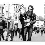 street music  Wuerzburg Saenger