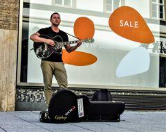 street Musiker -2- SALE +6Fotos lum-19-21col
