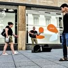 street Musiker -3- SALE +9Fotos lum-19-19col