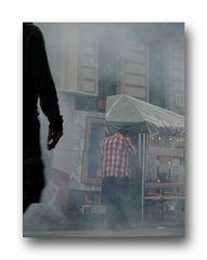 ... street Nebel