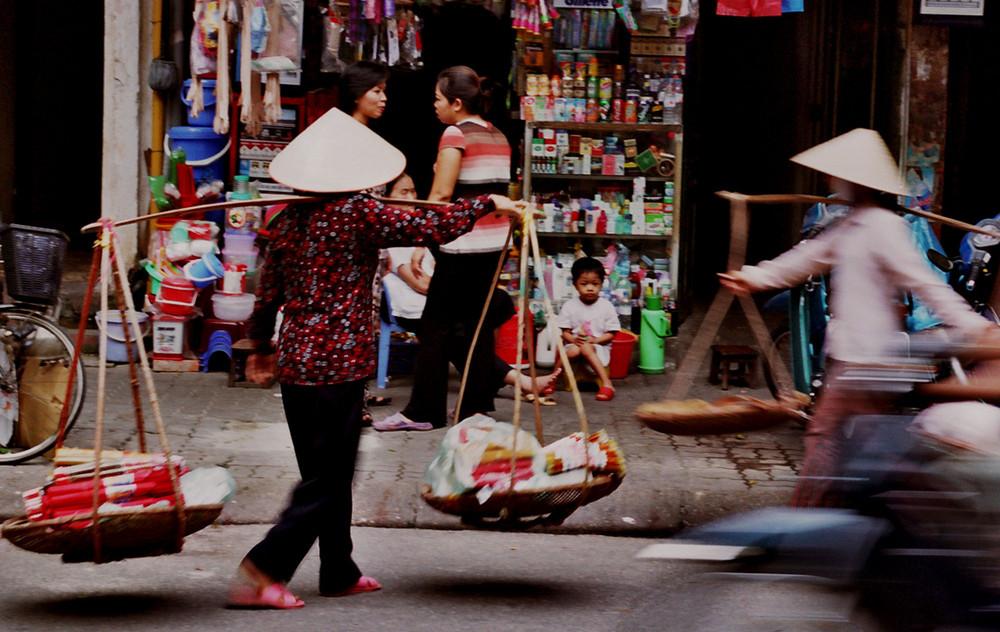 Street of Hanoi