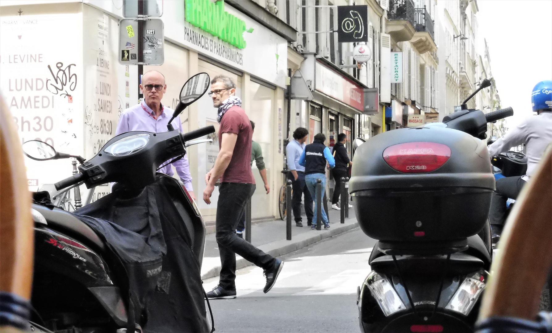 street Paris Blick lum-19-49col +8Fotos