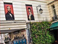 Street Passage Paris lum-19-col +4+4lyrische Parisfotos