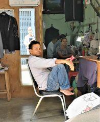 street portrait Shop Thai P20-20-col +4Fotos