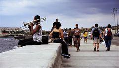 street Posaune ufer Cuba dia-21-20-col +sw +6Fotos