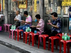 Street-Restaurant -- China Town Bangkok
